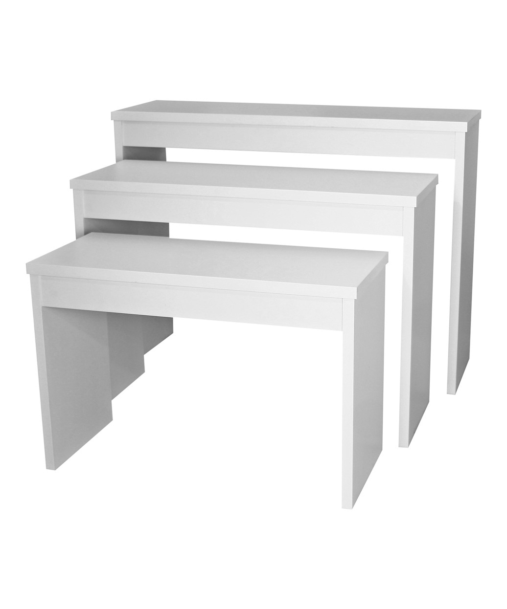 6648-48 Zada Set of 3 Nesting Retail Tables